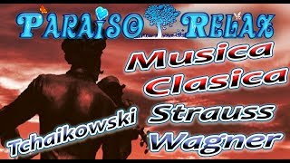 MUSICA CLASICA 9, TCHAIKOWSKI, STRAUSS, WAGNER, RELAJANTE ESTUDIAR, TRABAJAR, DORMIR
