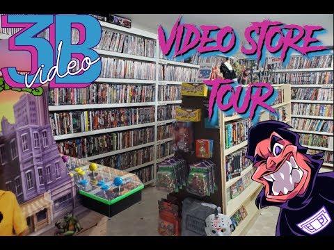 HOME VIDEO STORE TOUR - 3B VIDEO