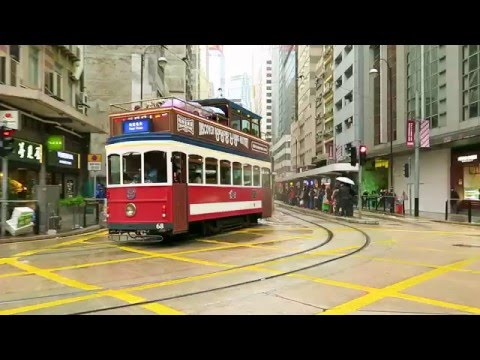 [HD] The first day of the Hong Kong Tramways TramOramic Tour service (Tram no. 68)