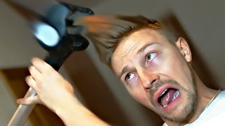 Засосало волосы - проверка рекламы