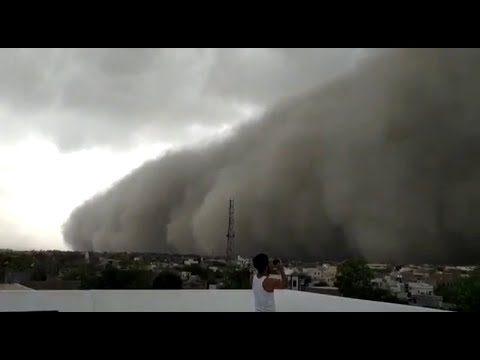'Apocalyptic' Scenes On Camera As Massive Dust Storm Engulfs Rajasthan City