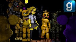 Gmod FNAF | Freddy's Friends Go Watch A Movie About Anime Toy Chica!