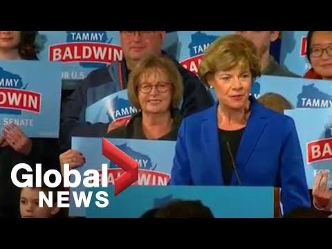 Midterm Elections: Tammy Baldwin wins another term as Wisconsin senator