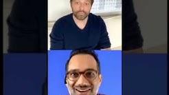 Misha Collins/ Dr. Ali Mattu Instagram Live- March 28/2020