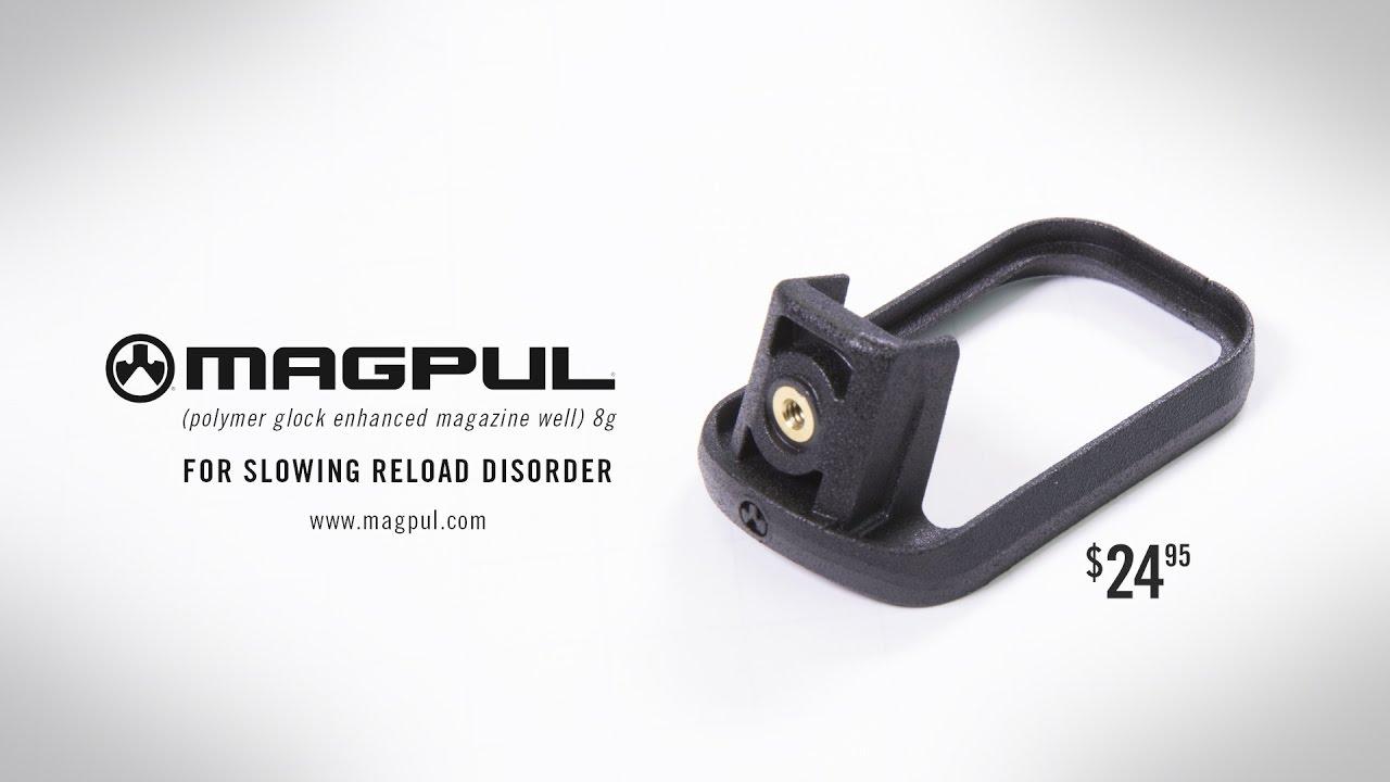 Magpul® GL Enhanced Magazine Well for GLOCK® 19 GEN 4