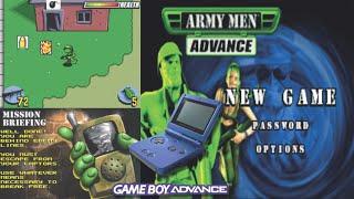 Chris & Mike Playthrough - Army Men Advance GBA