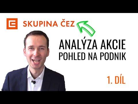 ČEZ akcie: 1. díl - Analýza podniku