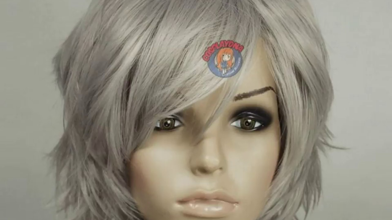 short bob hairstyles for grey hair