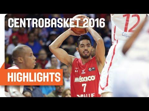 Panama (PAN) v Mexico (MEX) Game Highlights - Semifinal #2 - 2016 FIBA Centrobasket Championship