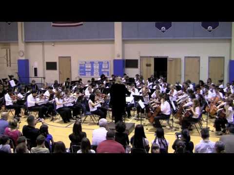 2012 lake ridge middle school Spring Orchestra Concert - 7th Grade