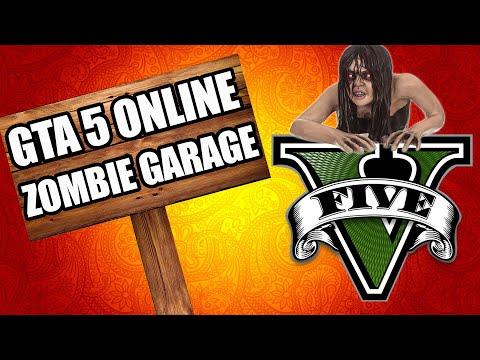 GTA 5 ONLINE ZOMBIES GARAGE (Call of Duty Custom Zombies) thumbnail