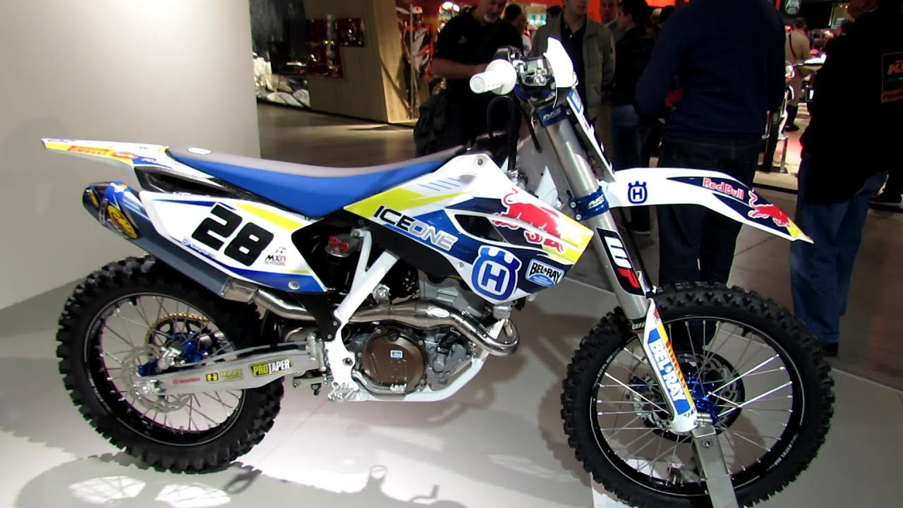 2014 husqvarna fc 350 ice one racing bike walkaround 2013 eicma milan motorcycle exhibition. Black Bedroom Furniture Sets. Home Design Ideas