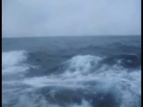Шторм в Охотском море   Storm in the Sea of Okhotsk (Russia)