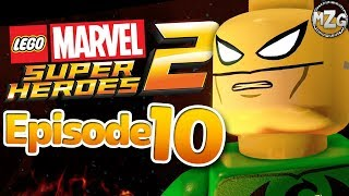 Iron Fist vs Steel Serpent! - LEGO Marvel Super Heroes 2 Gameplay - Episode 10 (K'un Lun Konund