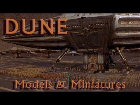 Dune - Models & Miniatures [HD]