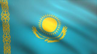 Kazakhstan Flag Waving Animated Using MIR Plug In After Effects - Free Motion Graphics