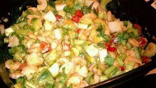Zesty Shrimp Salad Recipe