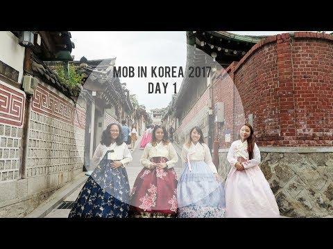 MOB Korea Trip 2017 | Day 1