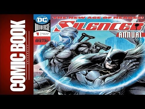 Silencer Annual #1 | COMIC BOOK UNIVERSITY