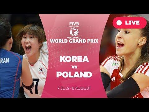 Korea v Poland - Group 2: 2017 FIVB Volleyball World Grand Prix