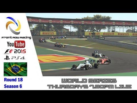 Front Row Racing World Series Brazil round 18 season 6