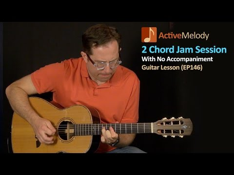 Guitar Lesson - Create an Easy Jam Session By Yourself With Just 2 Chords - EP146