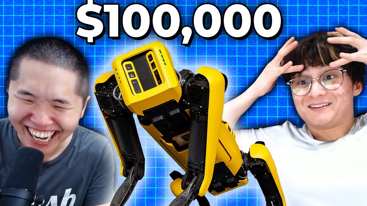 buying a $100,000 robot dog? ft. Michael Reeves