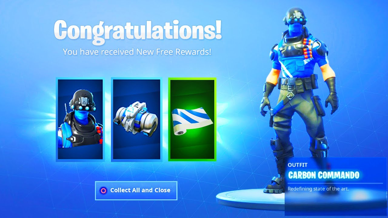 The New FREE ITEMS in Fortnite! How to Get New Celebration ...