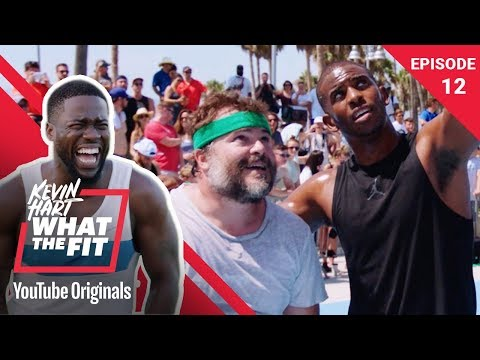 Basketball with Jack Black & Chris Paul  Kevin Hart: What The Fit Ep 12  Laugh Out Loud Network