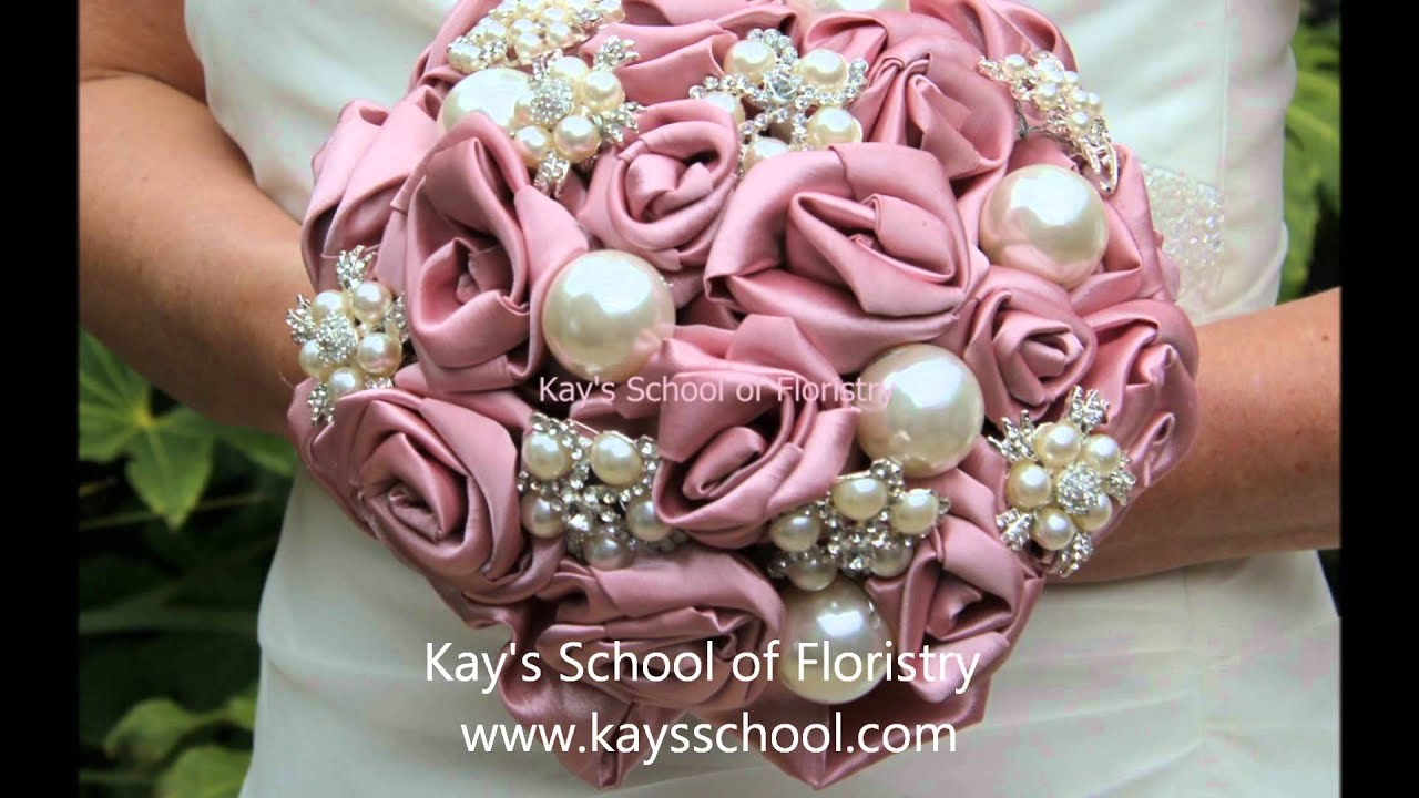 Bridal Brooch Bouquets Youtube