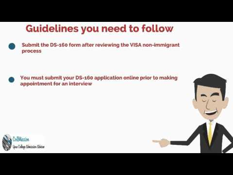 Guidelines for Filling the Form DS-160
