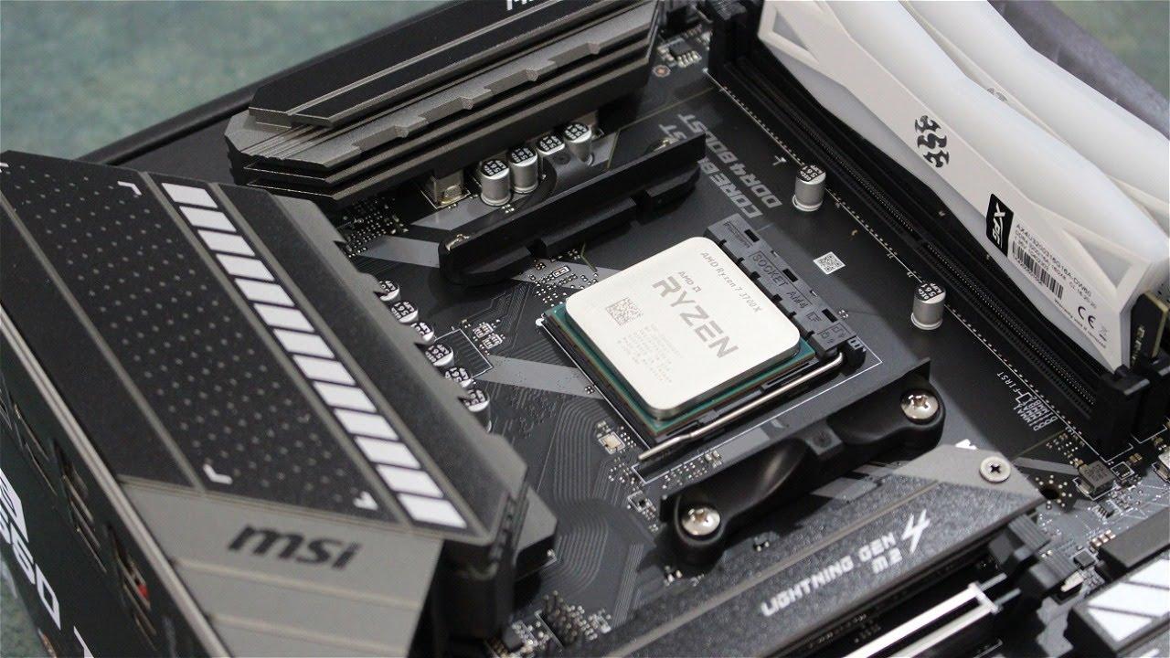 تجميعة جيمنج بي سي من AMD جديدة (Time Laps)