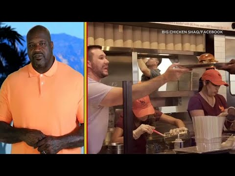 Eyewitness This: Shaquille O'Neal Wants To Hire You To Work At His Glendale Restaurant I ABC7