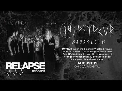 """MYRKUR - """"Jeg er Guden, I er Tjenerne"""" (Live at the Mausoleum)"""