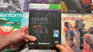 Mass Effect Trilogy Unboxing!