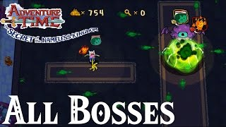 Adventure Time Secret of the Nameless Kingdom // All Bosses