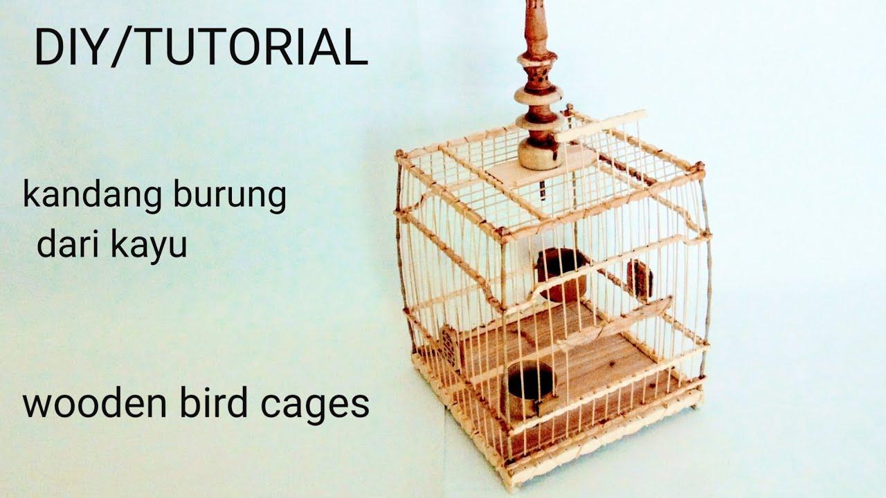 (S29) Cara membuat kandang burung ukiran minimalis - YouTube