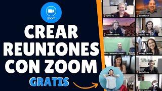 ✅como Crear Una Videollamada Con Zoom Gratis | 2020