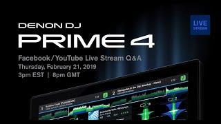 Denon DJ Live Stream Q & A w/Jason (PRIME 4)