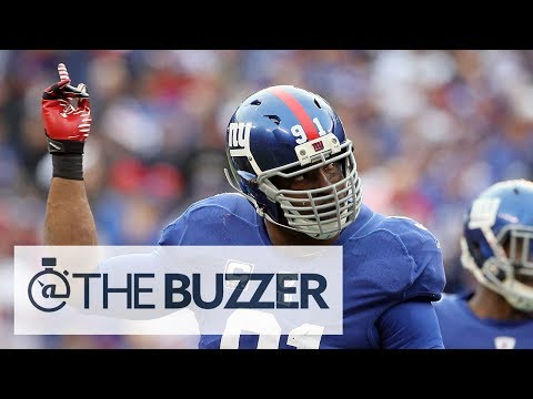 Can Justin Tuck Wear His Signature Facemask This Season? - @TheBuzzeronFOX