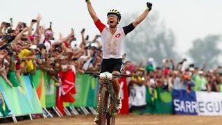 Rio Olympics 2016: Nino Schurter wins men's mountain bike cross country gold
