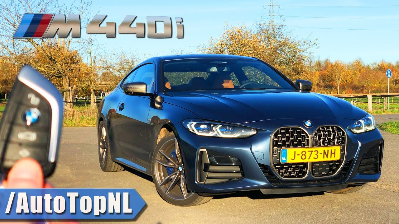 BMW 4 Series M440i xDrive REVIEW on AUTOBAHN by AutoTopNL