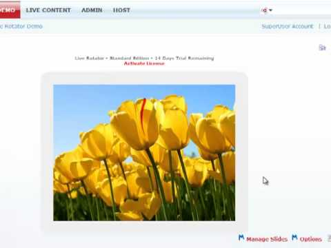 Live Rotator - Integration w/Live Content | DotNetNuke Module | Mandeeps.com