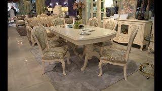 Видео обзор: Классический обеденный стол со стульями Флетчер-W