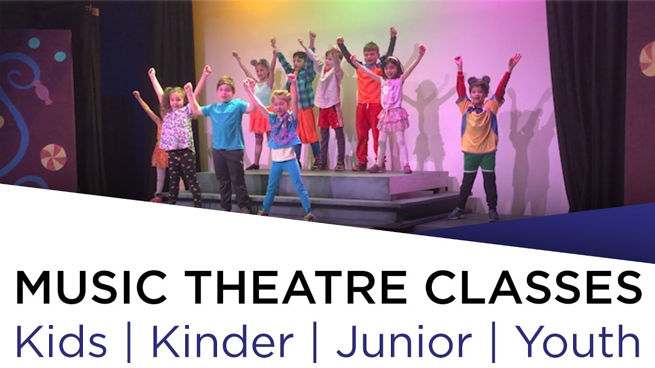 Junior Youth Music Theatre Classes Kinder Kids Junior Youth