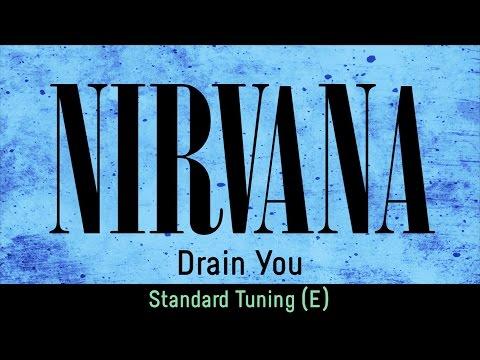 Nirvana - Drain You (backing Track For Guitar, Standard Tuning E)