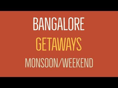 Must Visit Places Near Bangalore/Bengaluru India In Monsoon/Weekend