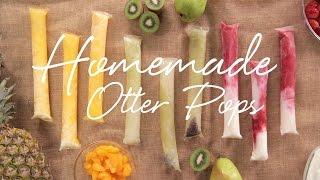 DIY Fresh Fruit Otter Pops | Eat the Trend