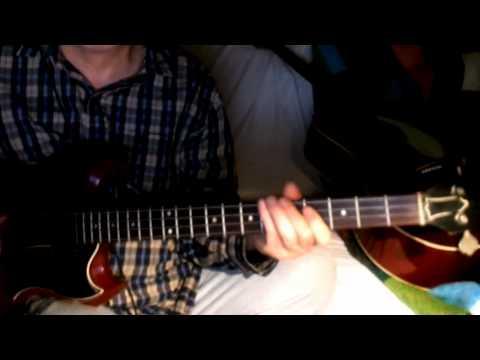 Rosamunde ~ Dennie Christian - Heino - Andre Rieu ~ Interpretation Akustikgitarre & Gibson EB-0