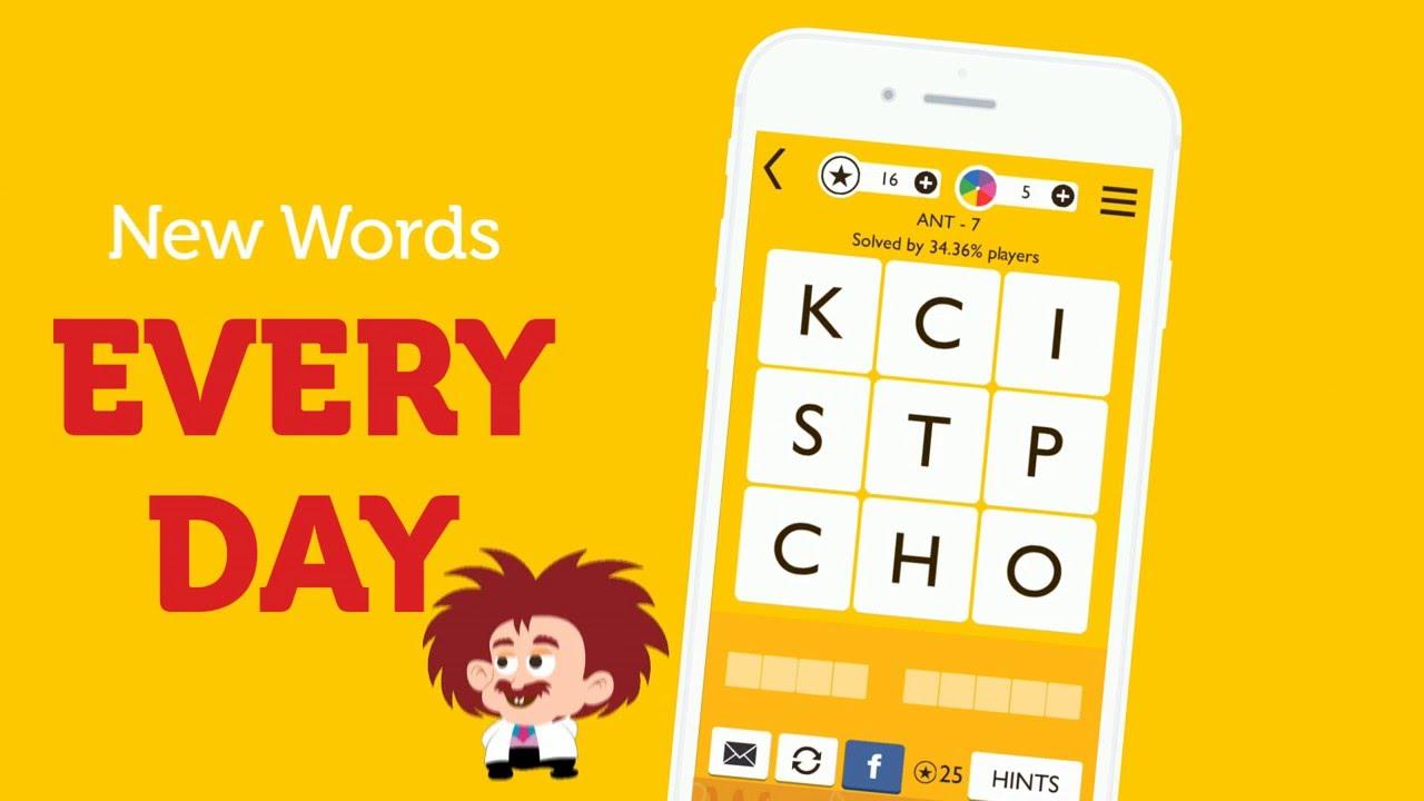 word trek word brain game youtube